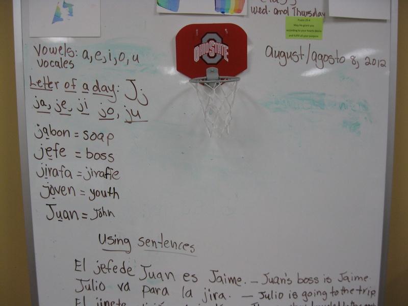 Learning Spanish Center.